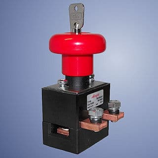 Albright Emergency Stop with key ED250 lb