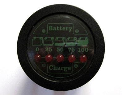 Elektrosistem BCL02 Batteriezähler