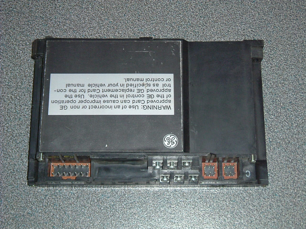 IC3645EVT1 General Electric EV 100 card T1
