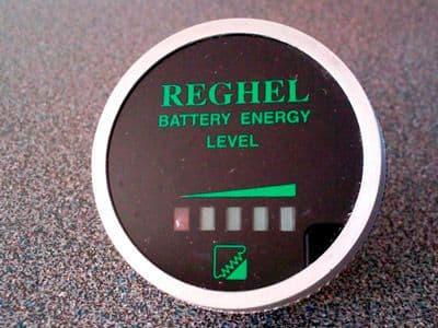 Reghel discharge meter