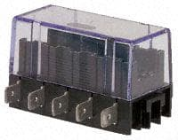 Fuse holder 5 positions